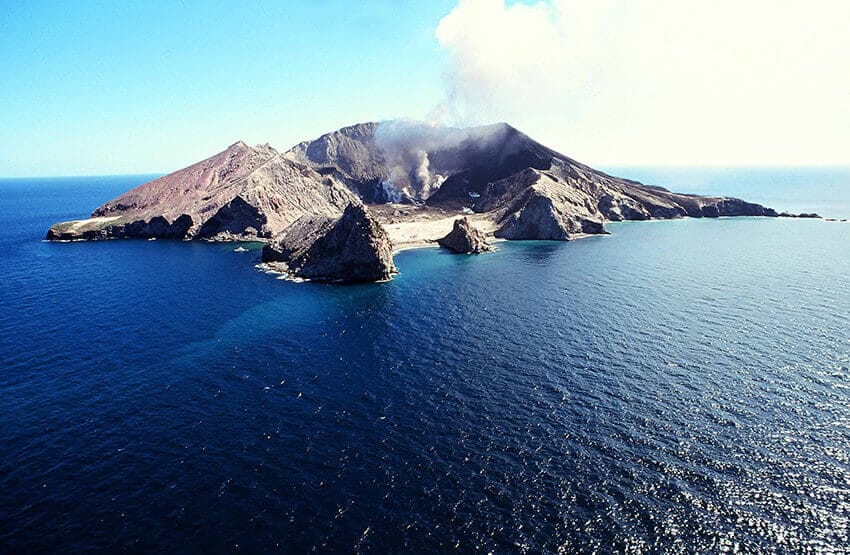 White Island Aerial