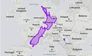 NZ compared to EUROPE