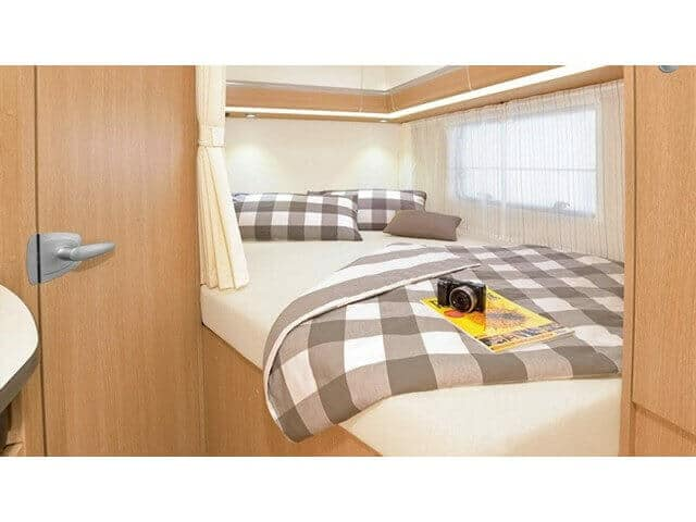 fixed bed motorhome