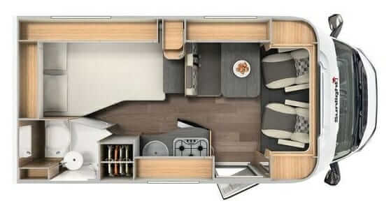 Explorer floorplan