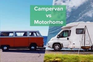 Campervan or Motorhome